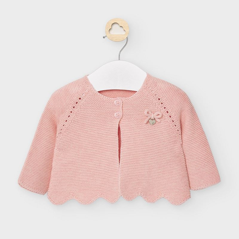 Mayoral Knit Cardigan - Blush Pink (2333)