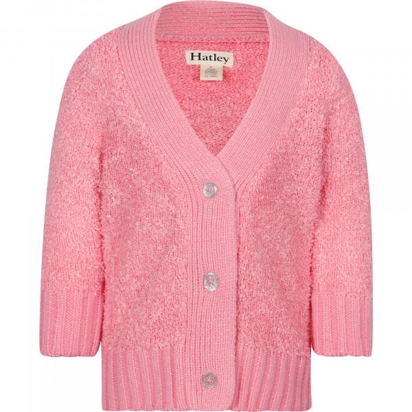 Hatley Pink Confetti Cardigan
