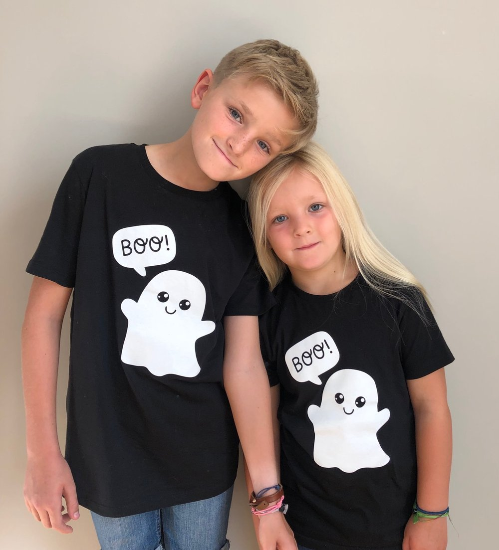 Kindness Co-op Ghost T-Shirt Black