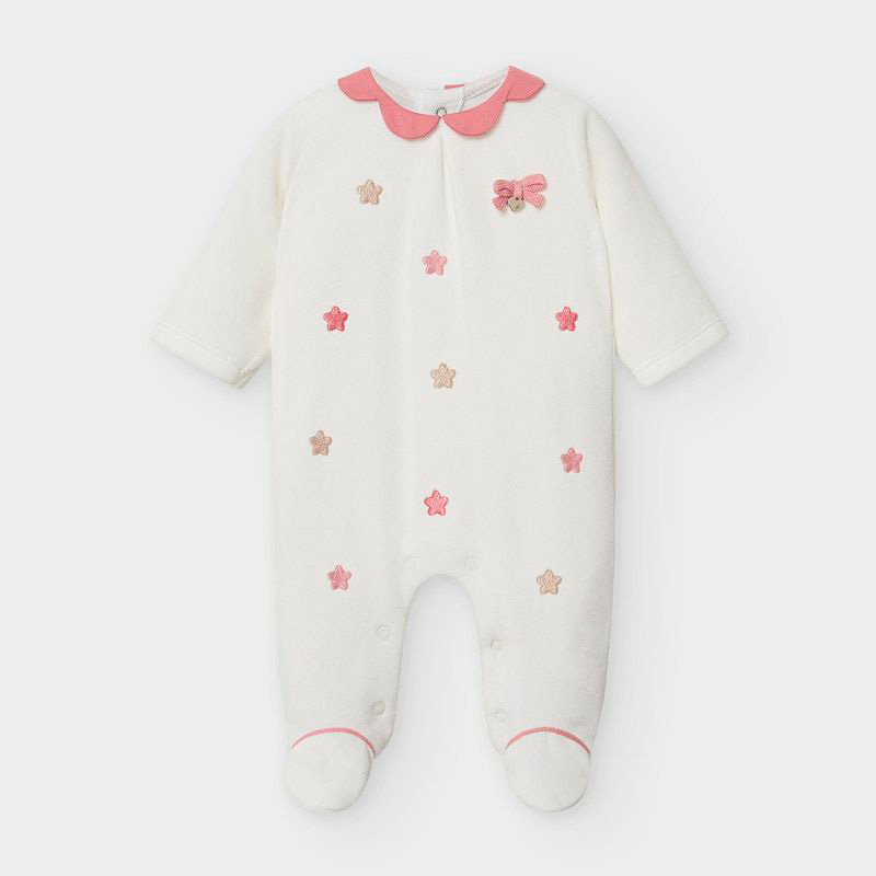 Mayoral Onesie-Off White (2751)