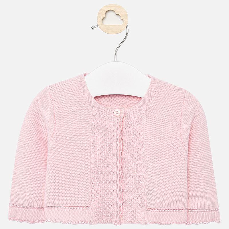 Mayoral Cardigan Baby Pink (325)