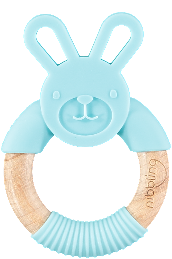 Nibbling Forest Friend Bunny Teething Toy