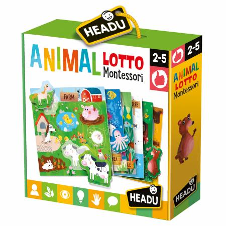 Headu Animal Lotto Montessori