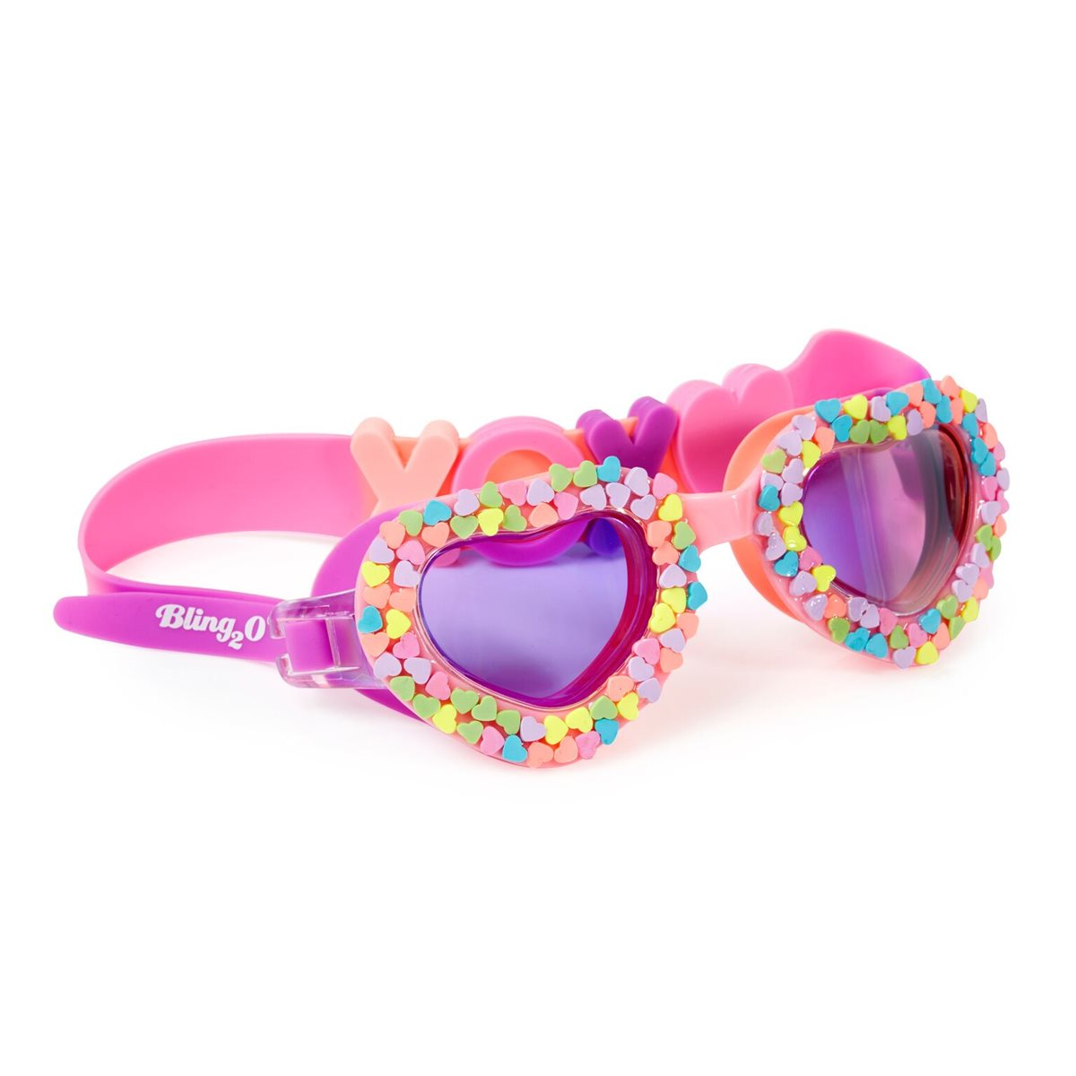 Bling 2o Swimming Goggles Candy Hearts