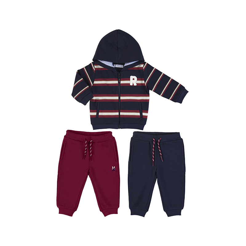 Mayoral Tracksuit Navy/Wine (2887)
