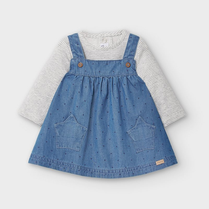 Mayoral Pinafore and T-shirt Set (2860)(was £31)