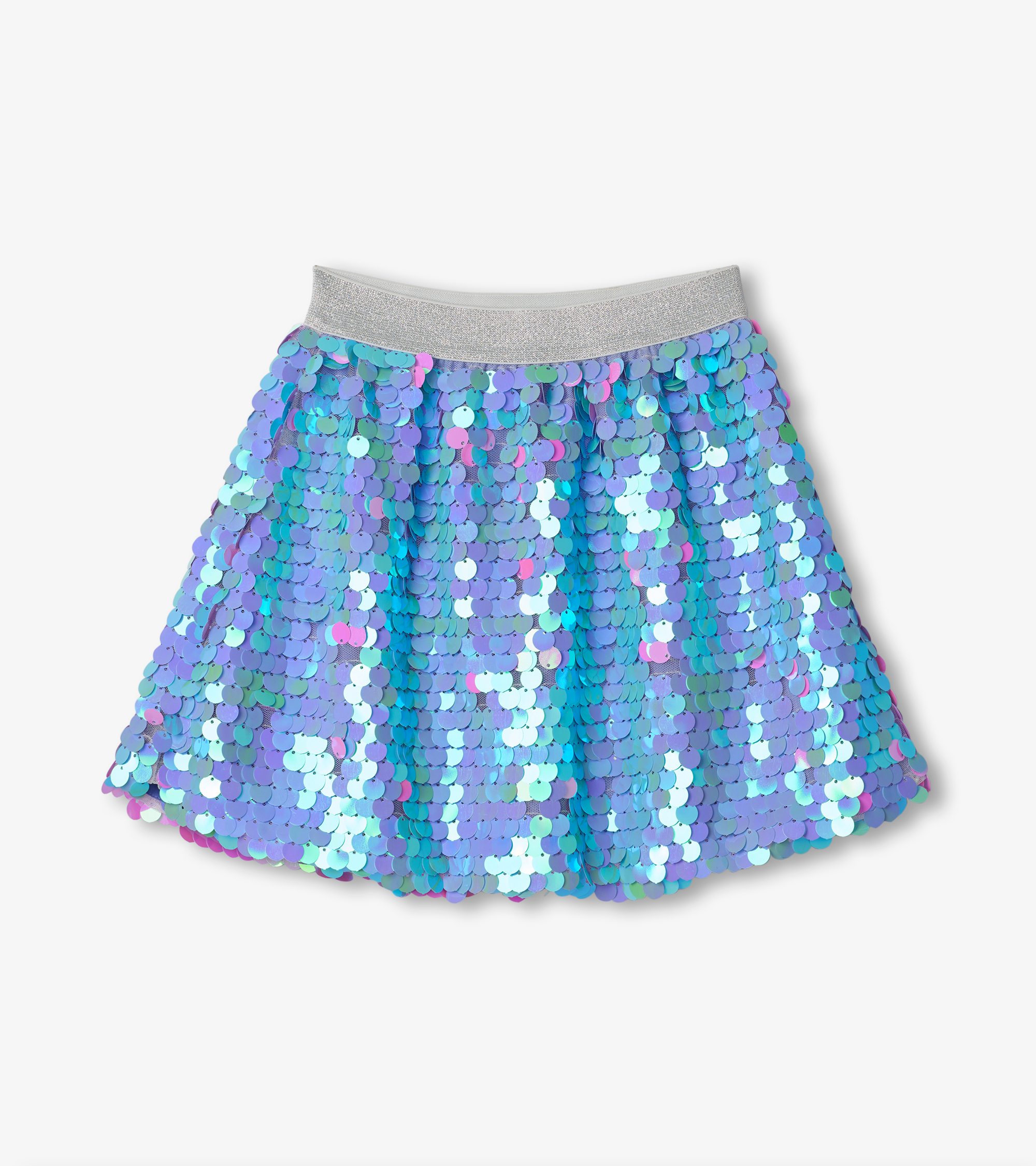 Hatley Opalescent Sequin Skirt Purple