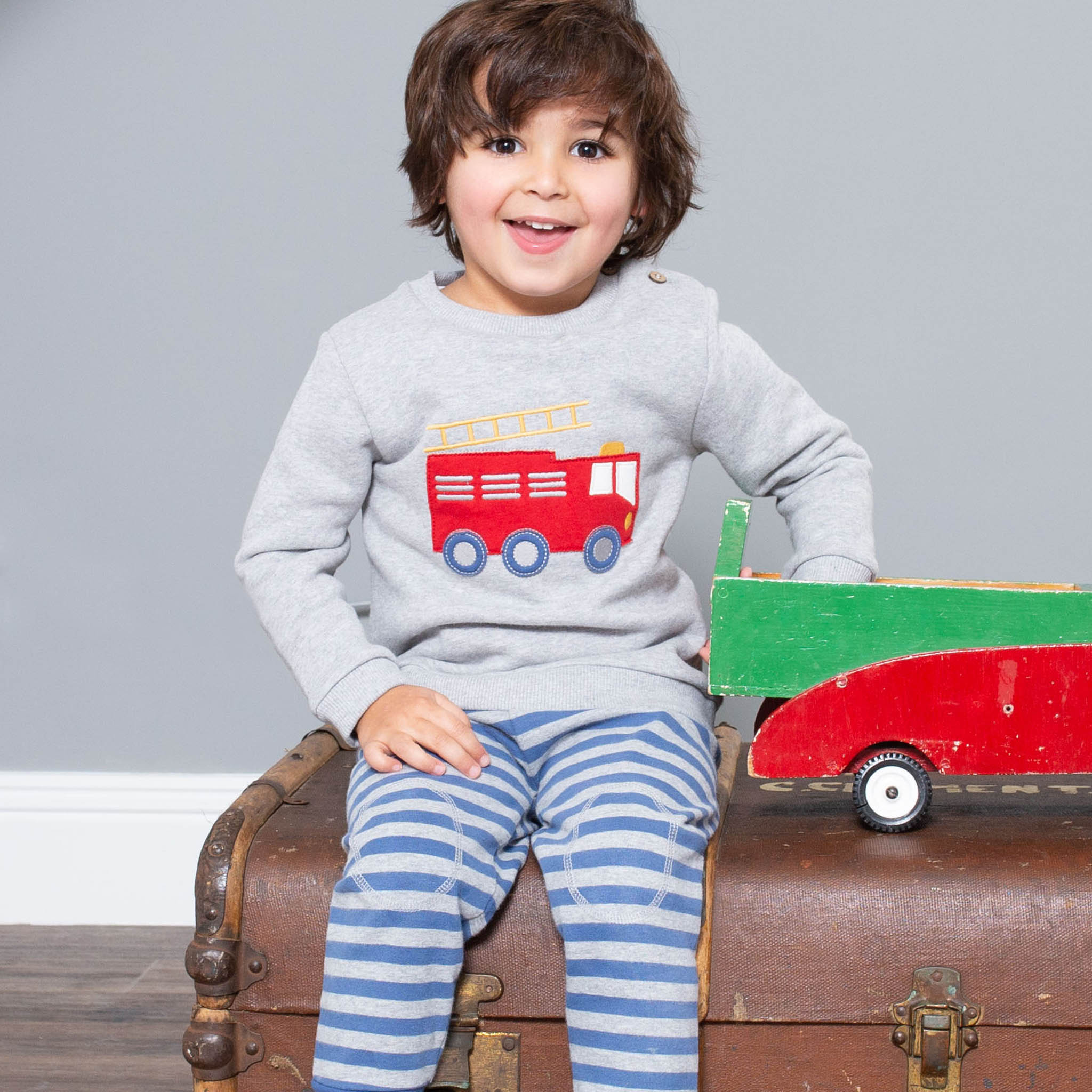SALE £24.00 Kite Fire Engine Rescue Sweatshirt (was £30.00)