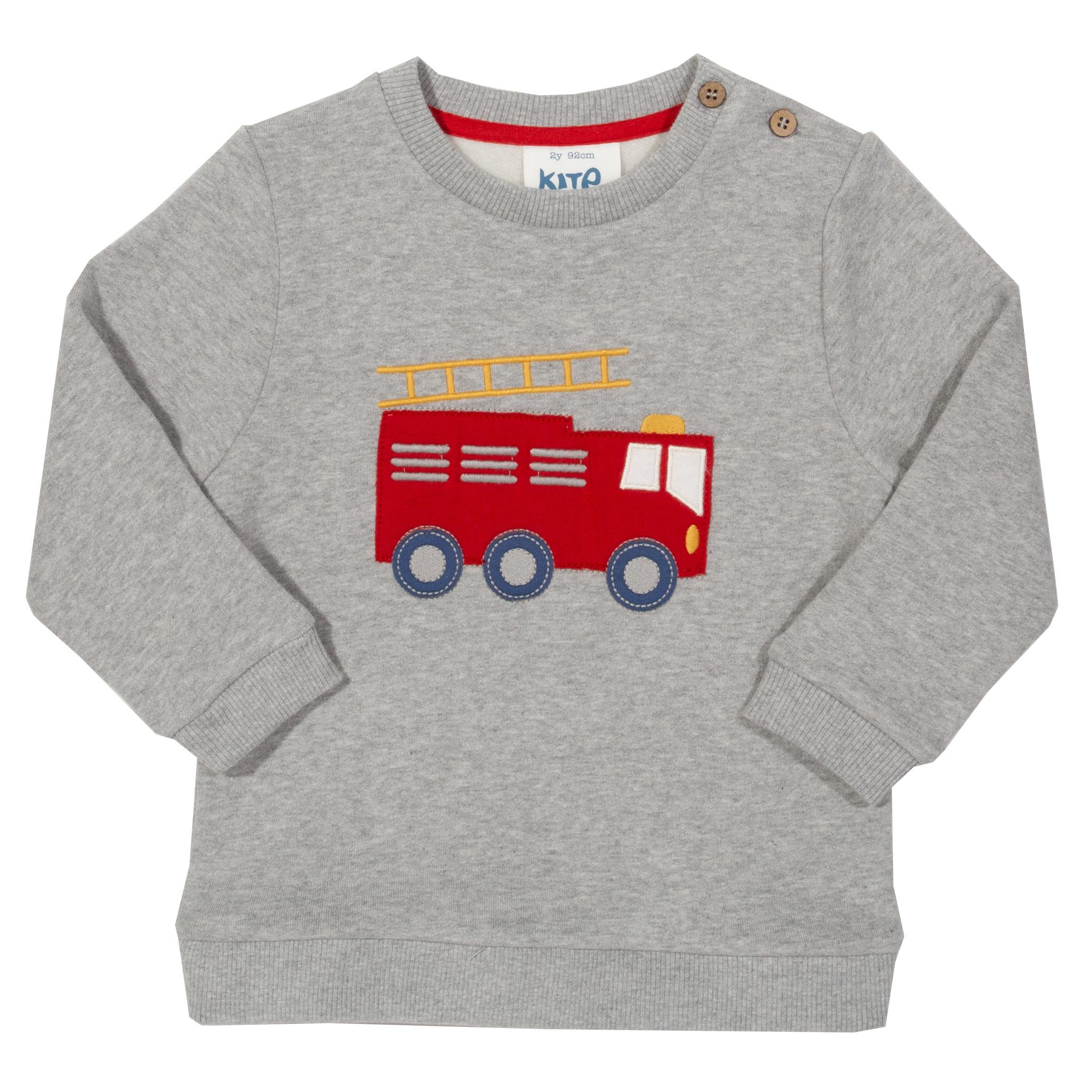 Kite Fire Engine Rescue Sweatshirt