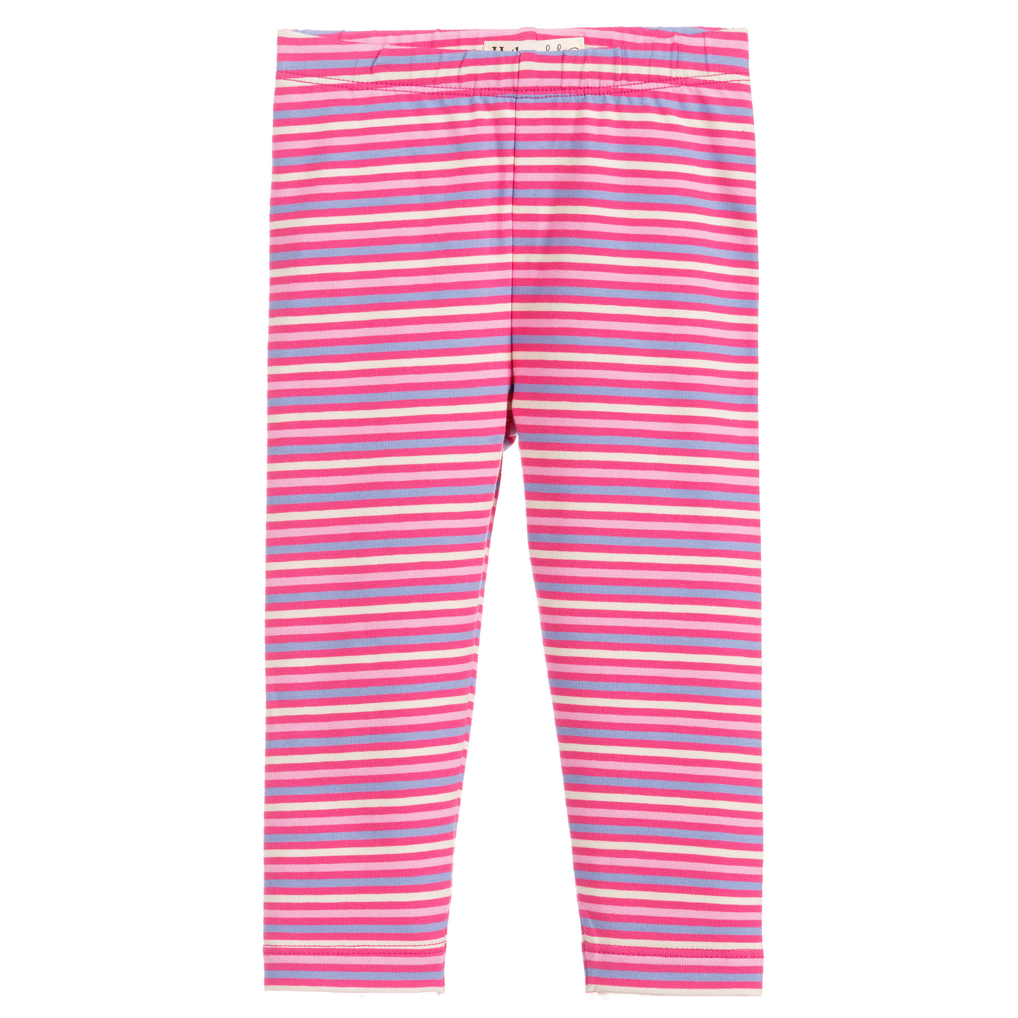 Hatley Stripes Baby Leggings-Rose