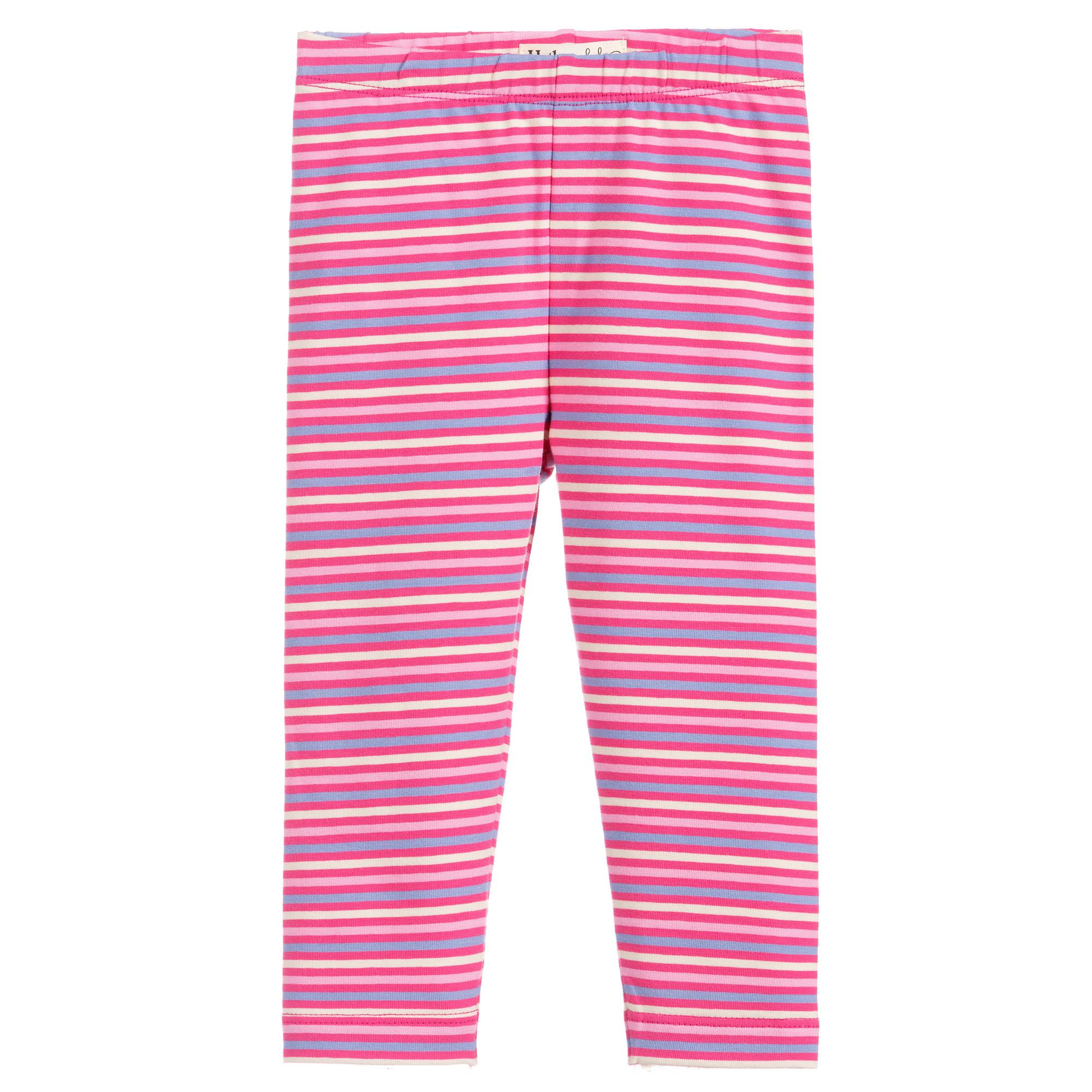 Hatley Stripes Baby Leggings-Rose (was £16)