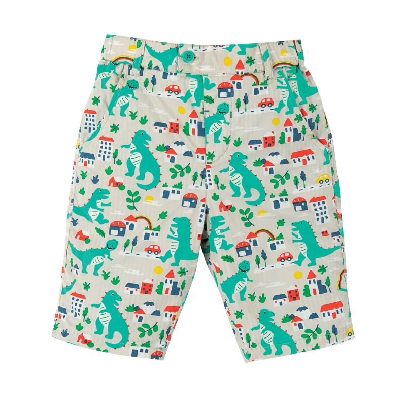 Frugi Reuben Reversible Shorts - City Stomp