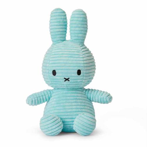 Miffy Corduroy Turquoise - 24 cm - 9.5