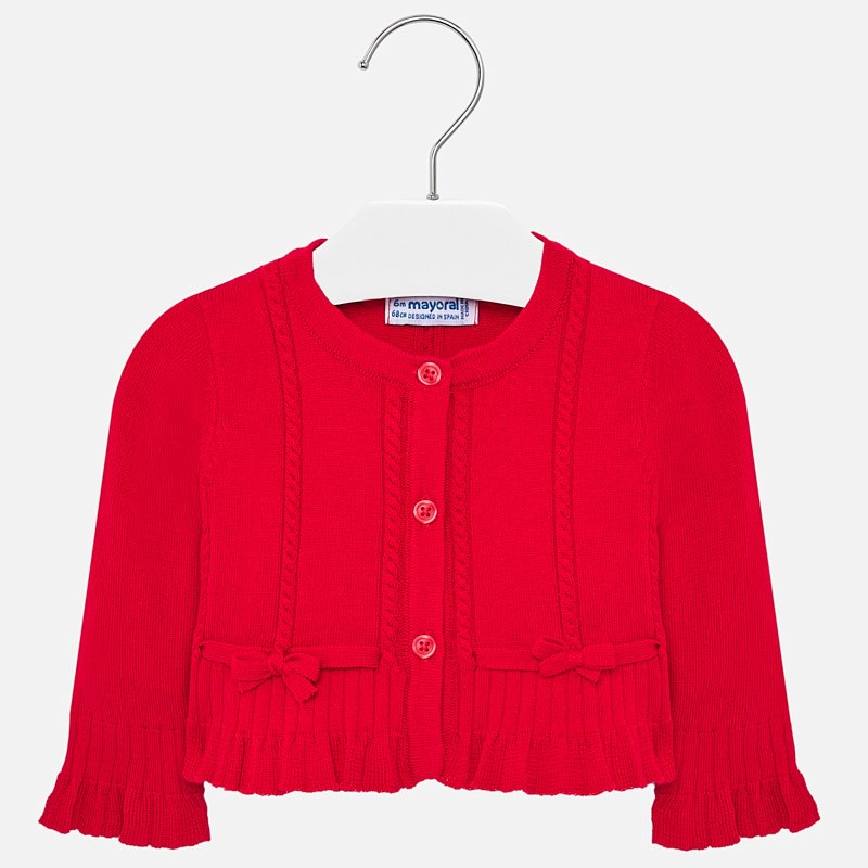 NOW £17 Mayoral Knit Cardigan Red (1327)