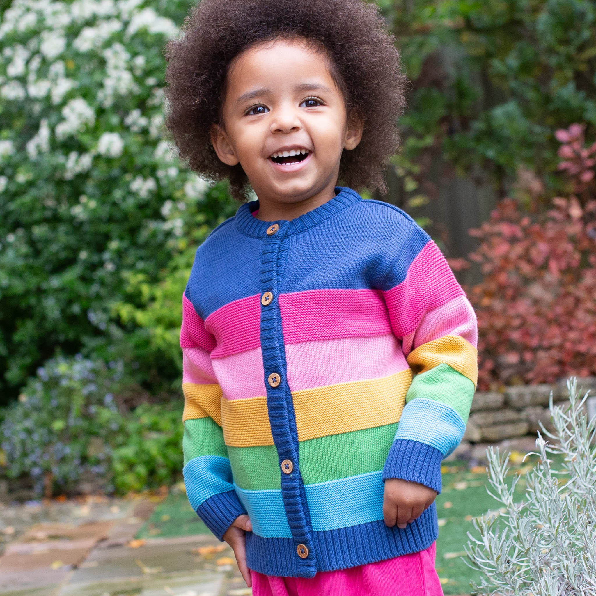 SALE £25.60 Kite Rainbow Cardigan (was £32.00)