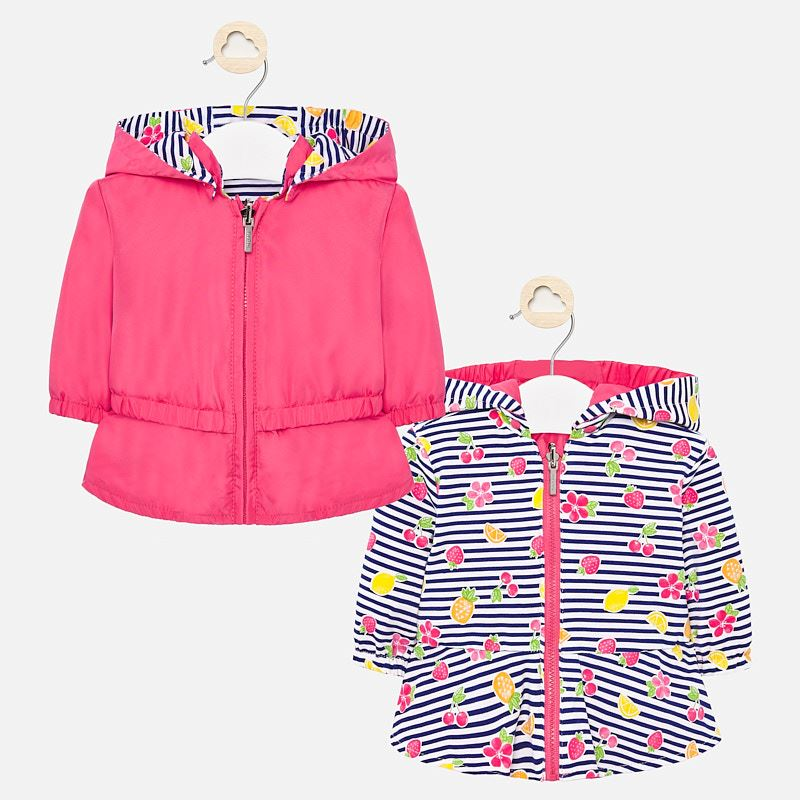 Mayoral Reversible Jacket Pink/Fruit (1445)