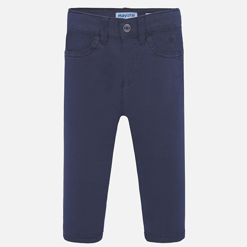 Mayoral Slim Fit Trousers Navy (506)