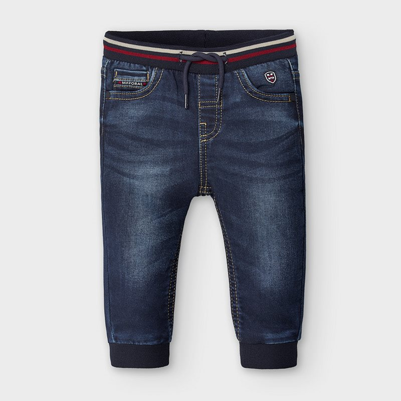 Mayoral Soft Denim Jeans - Dark Blue (2585)
