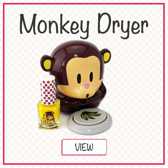 Miss Nella Monkey Dryer