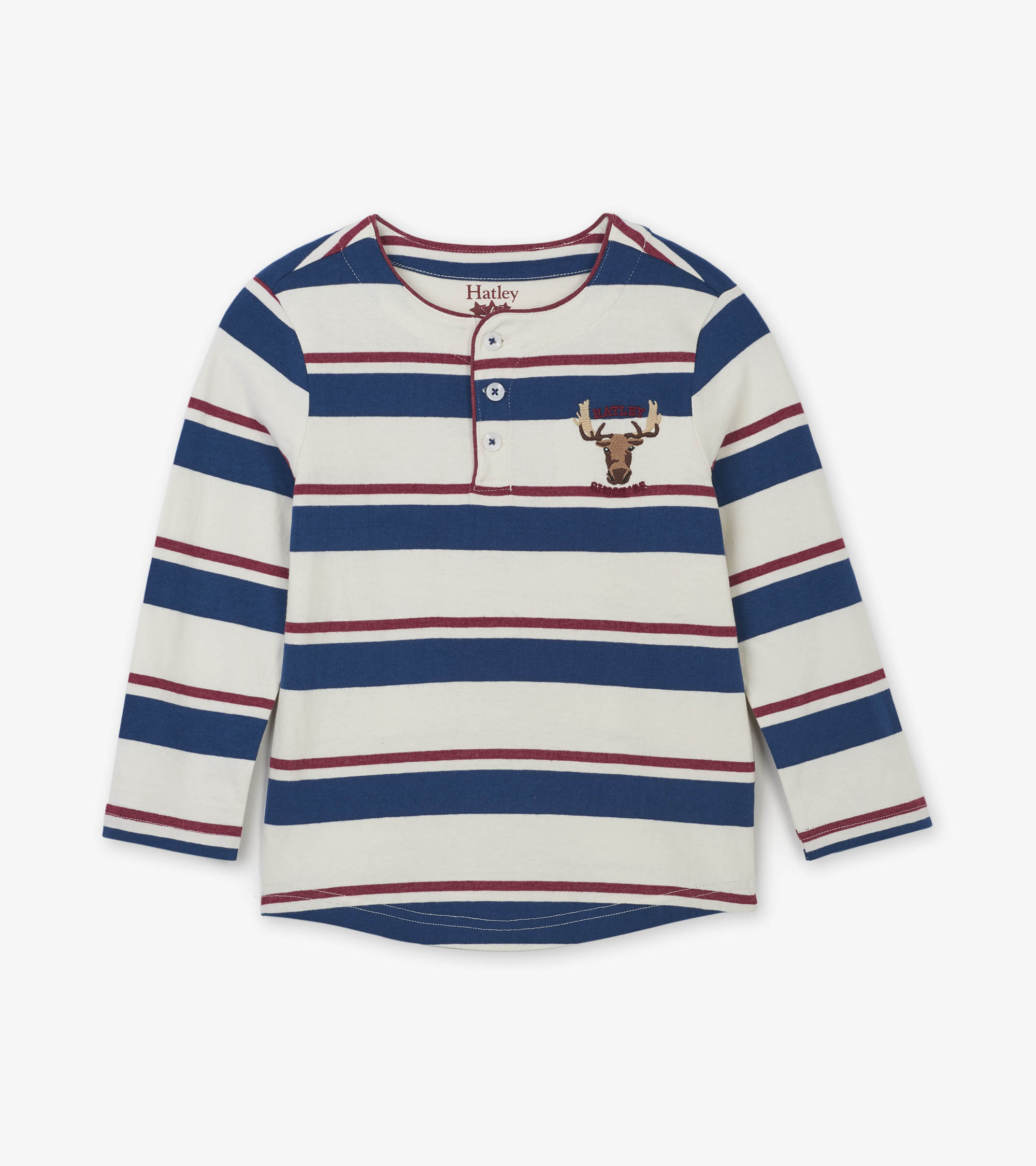 NOW £9 Hatley Rugby Moose Henley (Was £18)