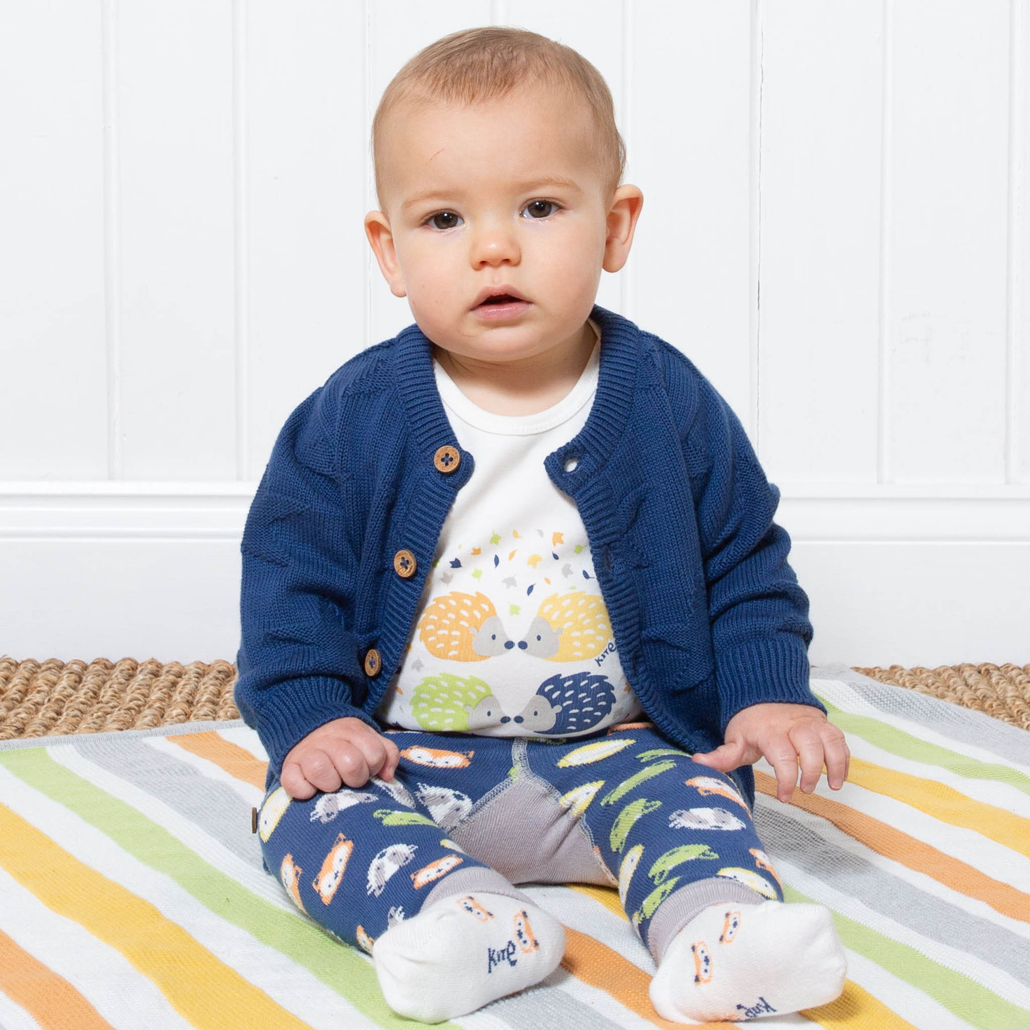 SALE £23.20 Kite 'My First Cardi' - Navy (was £29.00)