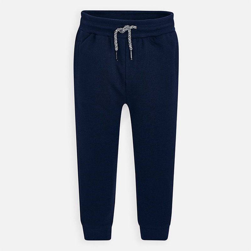 NOW £12 Mayoral Cuffed Fleece Joggers Navy (742)