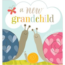 Think Of Me A New Grandchild Card