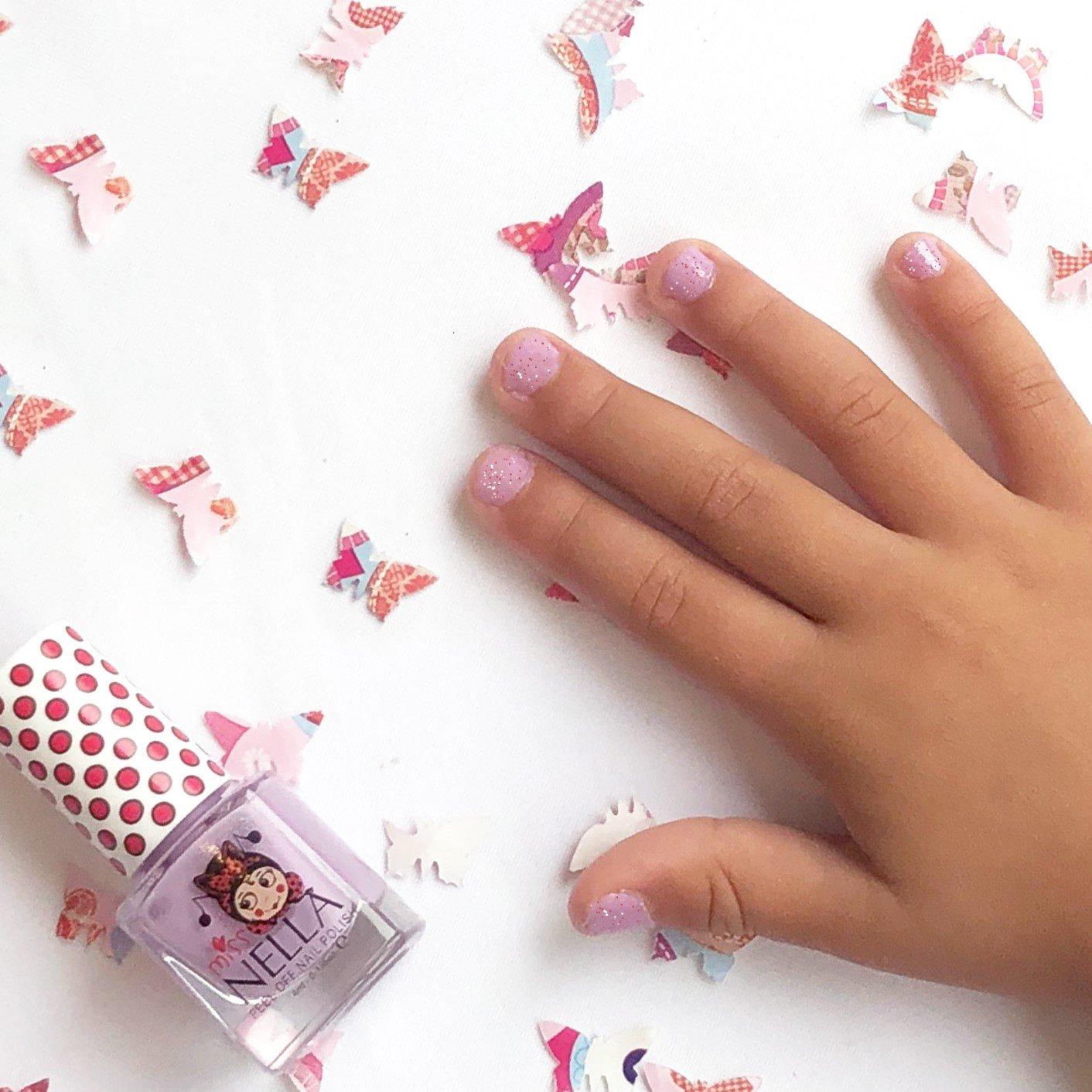 Miss Nella Butterfly Wings Peel Off Nail Polish