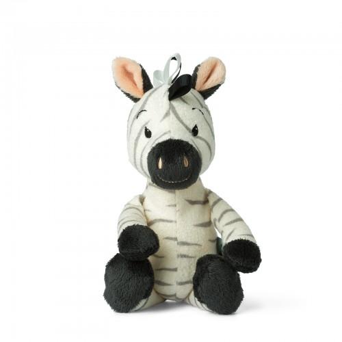 WWF Ziko the Zebra (White) with bell - 22 cm