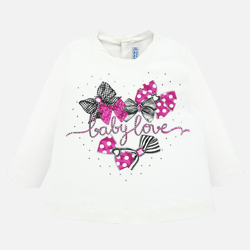NOW £8 Mayoral Baby Love Printed Top 2015 (Was £15)