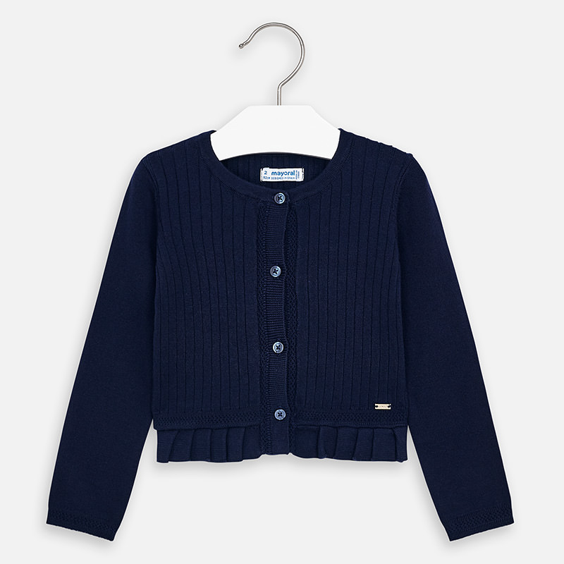 NOW £12 Mayoral Knitted Cardigan Navy (3320) (was £25)