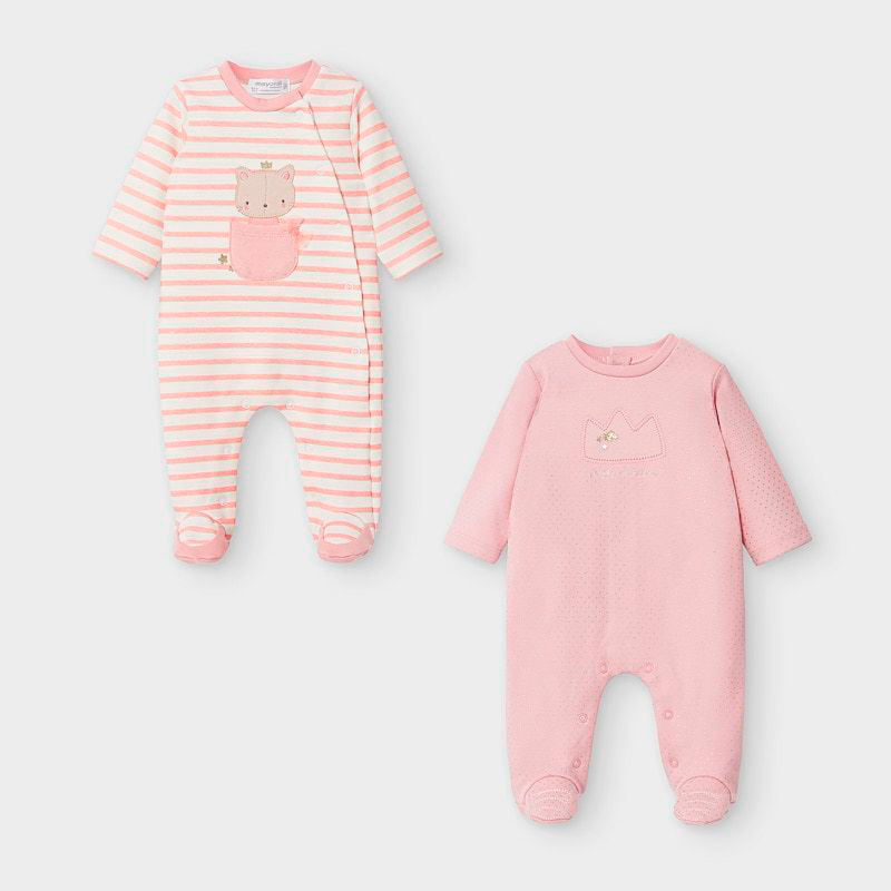 Mayoral Onesies Blush Pink (2757)