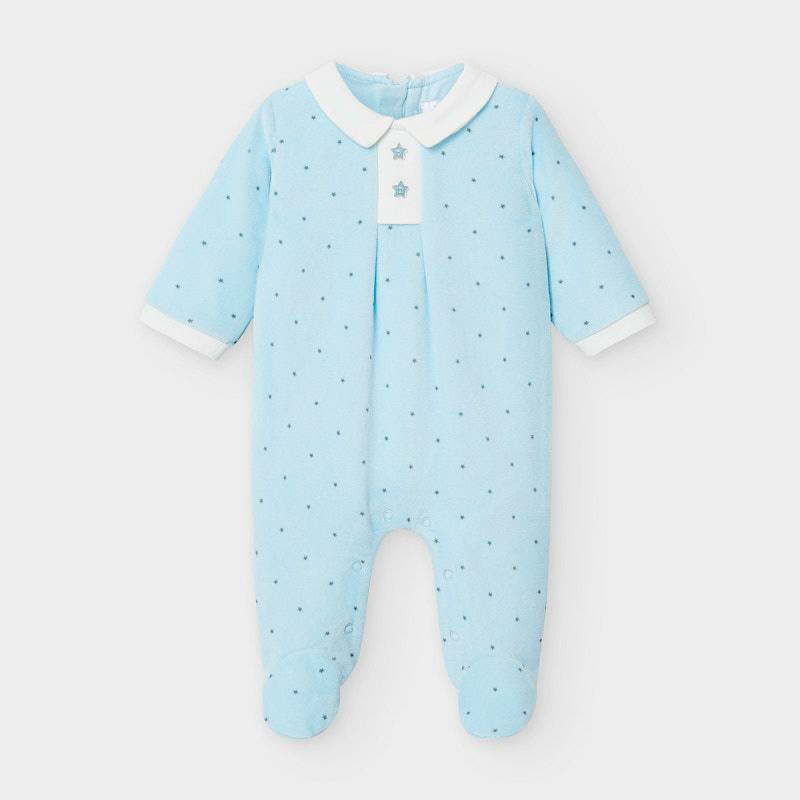 Mayoral Onesie-Baby Blue (2765)