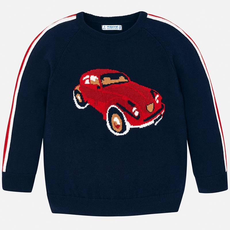 WAS £27.00 Mayoral Car Knit Sweater (4312)