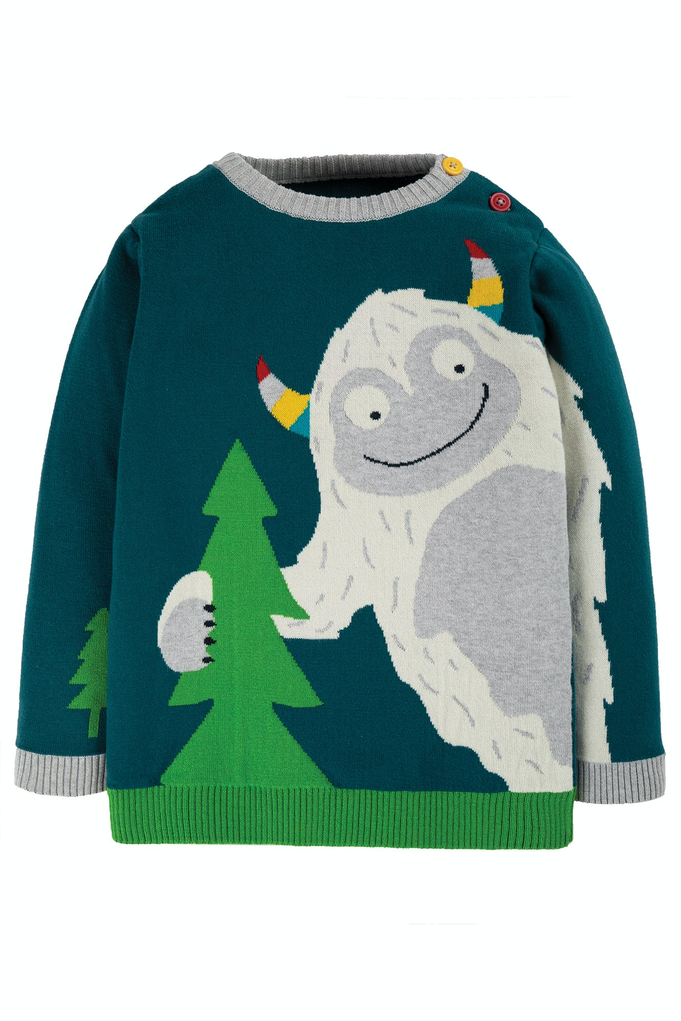 Frugi Elwood Knitted Jumper (Was £36)