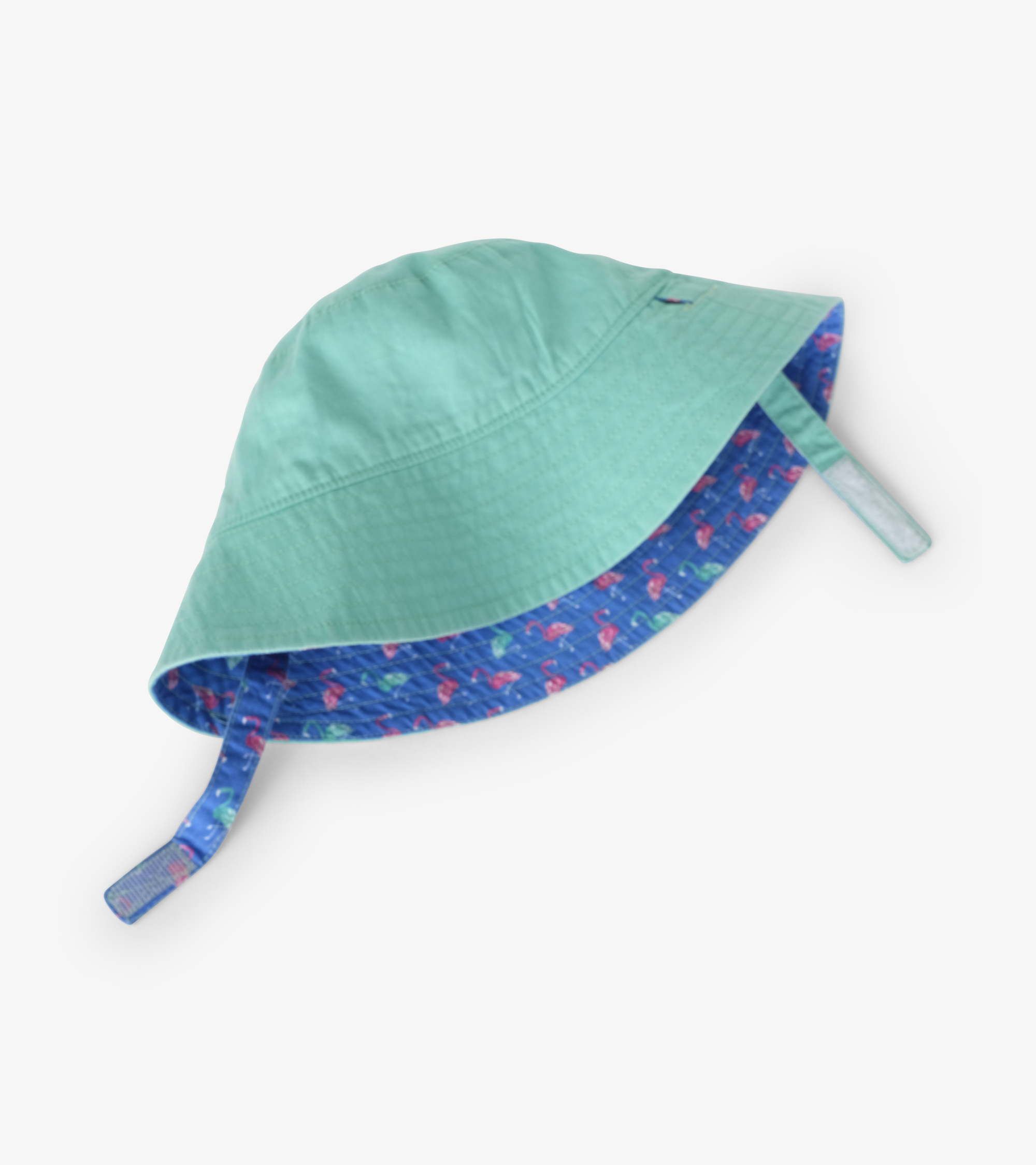 Hatley Fancy Flamingos Reversible Sun Hat