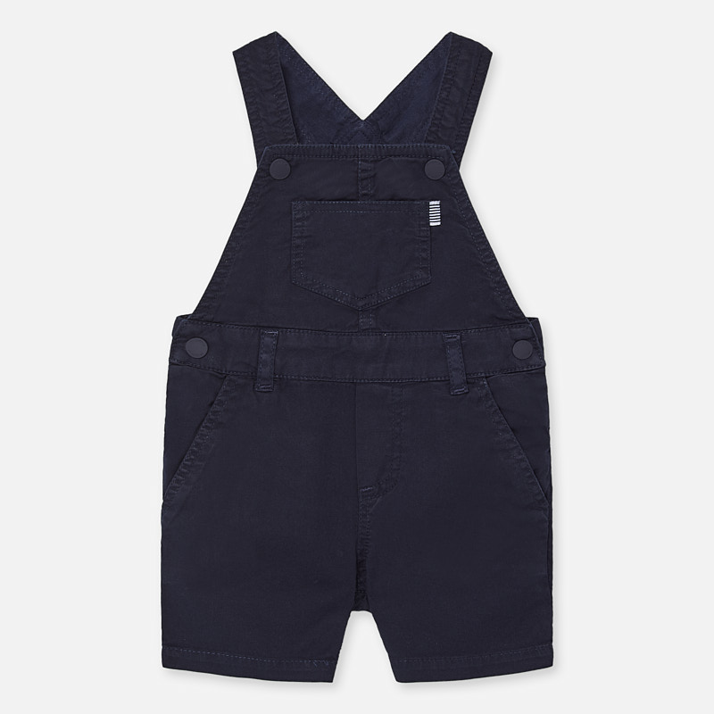 Mayoral Dungaree Shorts Navy (1687)