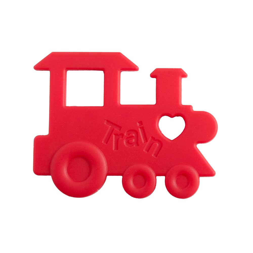 Nibbling Train Silicone teething Toy