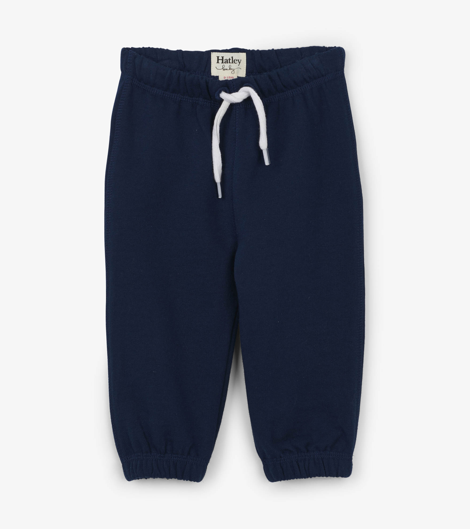 Hatley French Terry Baby Joggers Navy