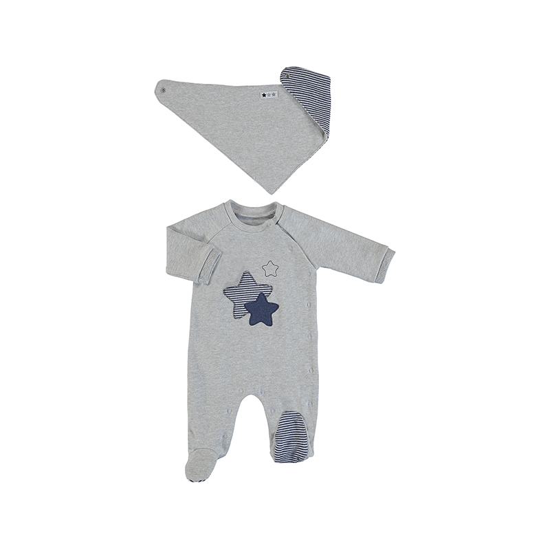 Mayoral All In One With Bib Set Grey (2769)