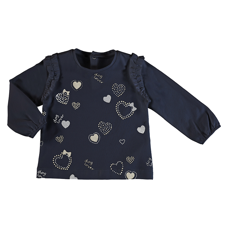 Mayoral Hearts Top-Navy (2056)