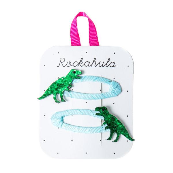 Rockahula T-Rex Glitter Clips