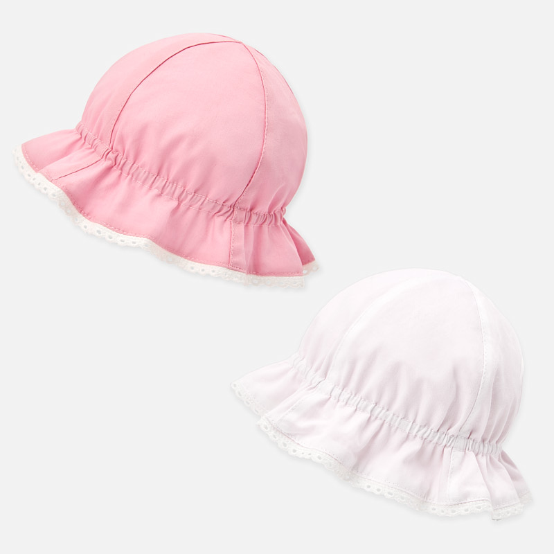 Mayoral Reversible Hat Pink (9255)