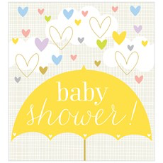 Think Of Me Baby Shower Card