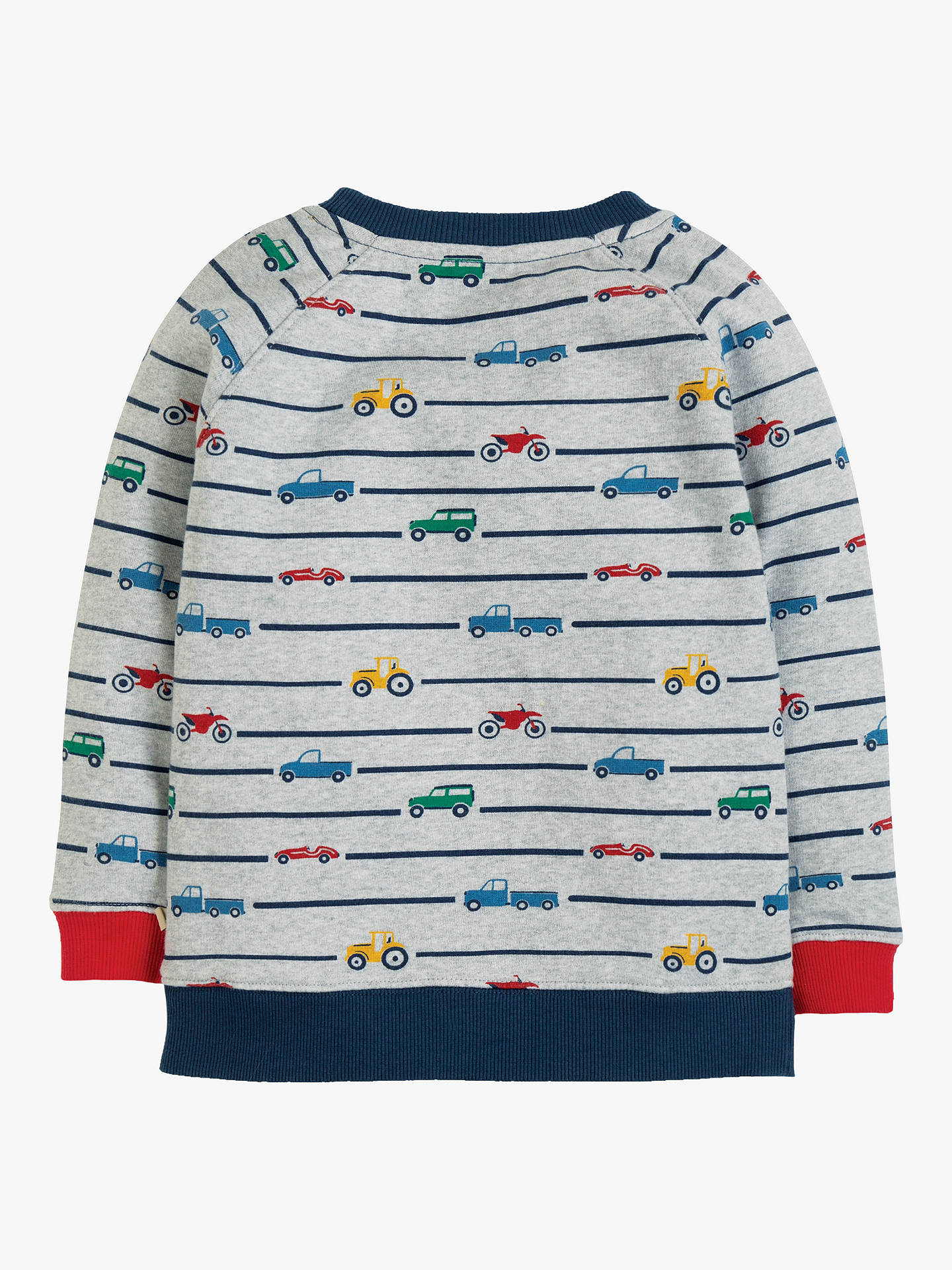 NOW £15 Frugi Rex Jumper, Racing Rally