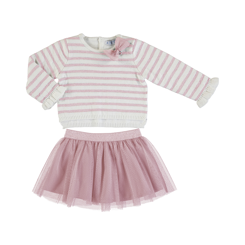 Mayoral Jumper & Skirt Set Rose (2974)