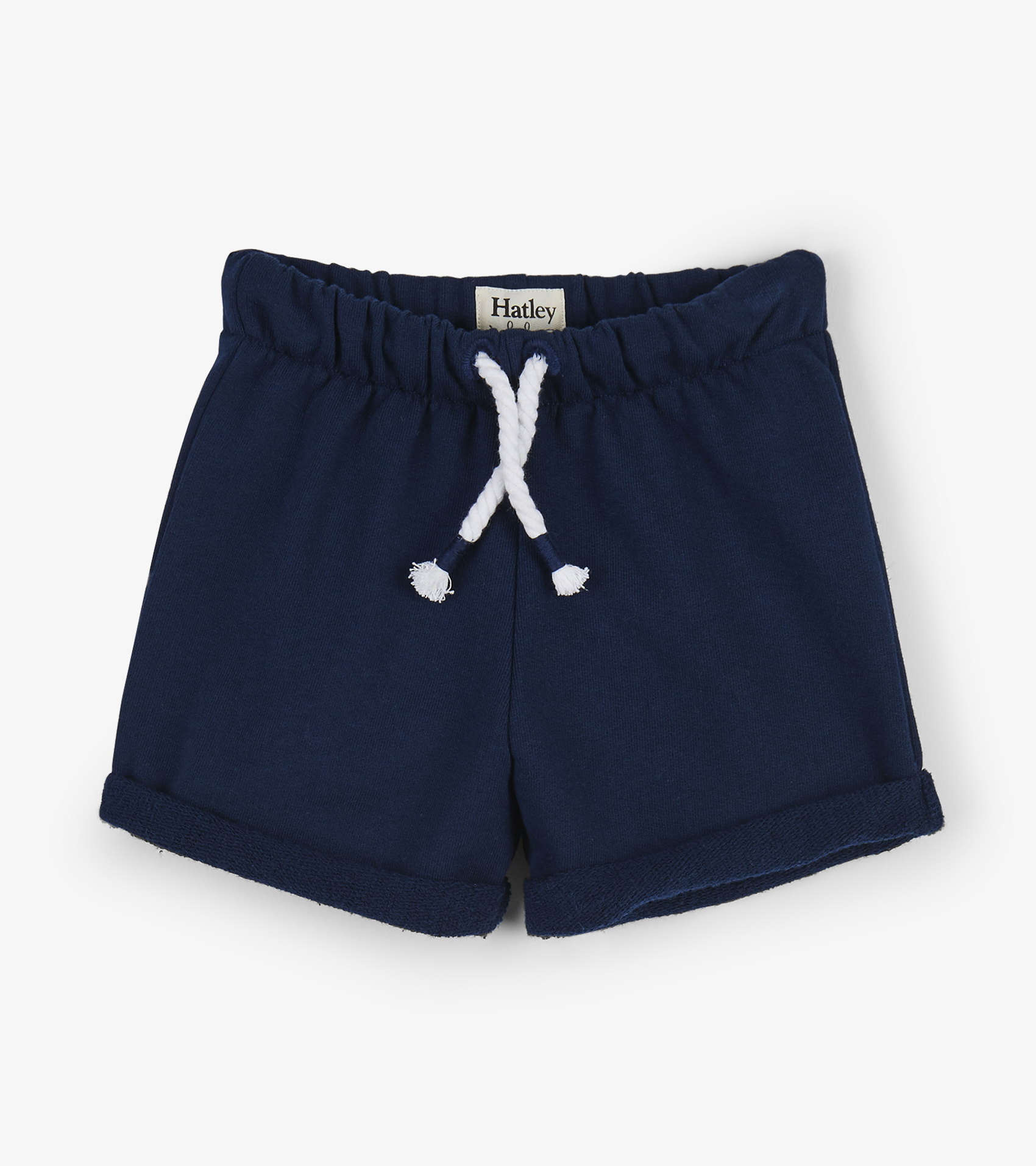Hatley French Terry Baby Shorts Navy