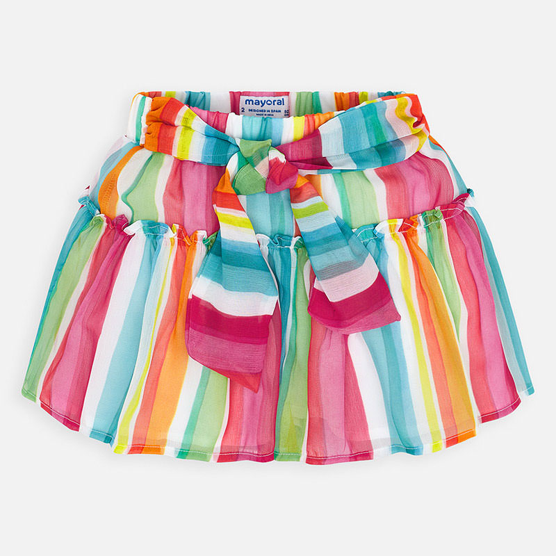 Mayoral Striped Shorts Watermelon (3281)