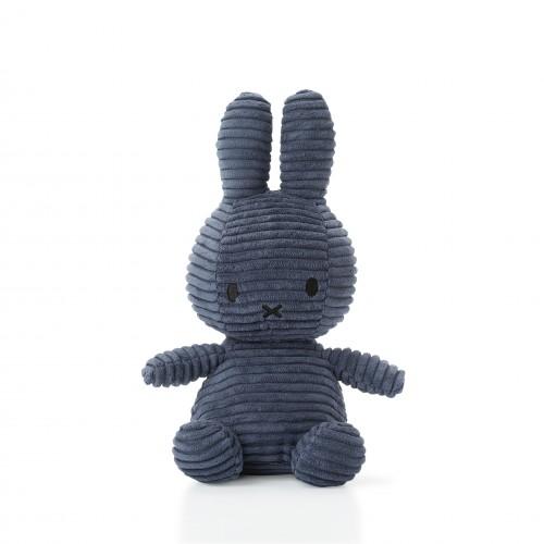 Miffy Corduroy Dark Blue - 24 cm - 9.5