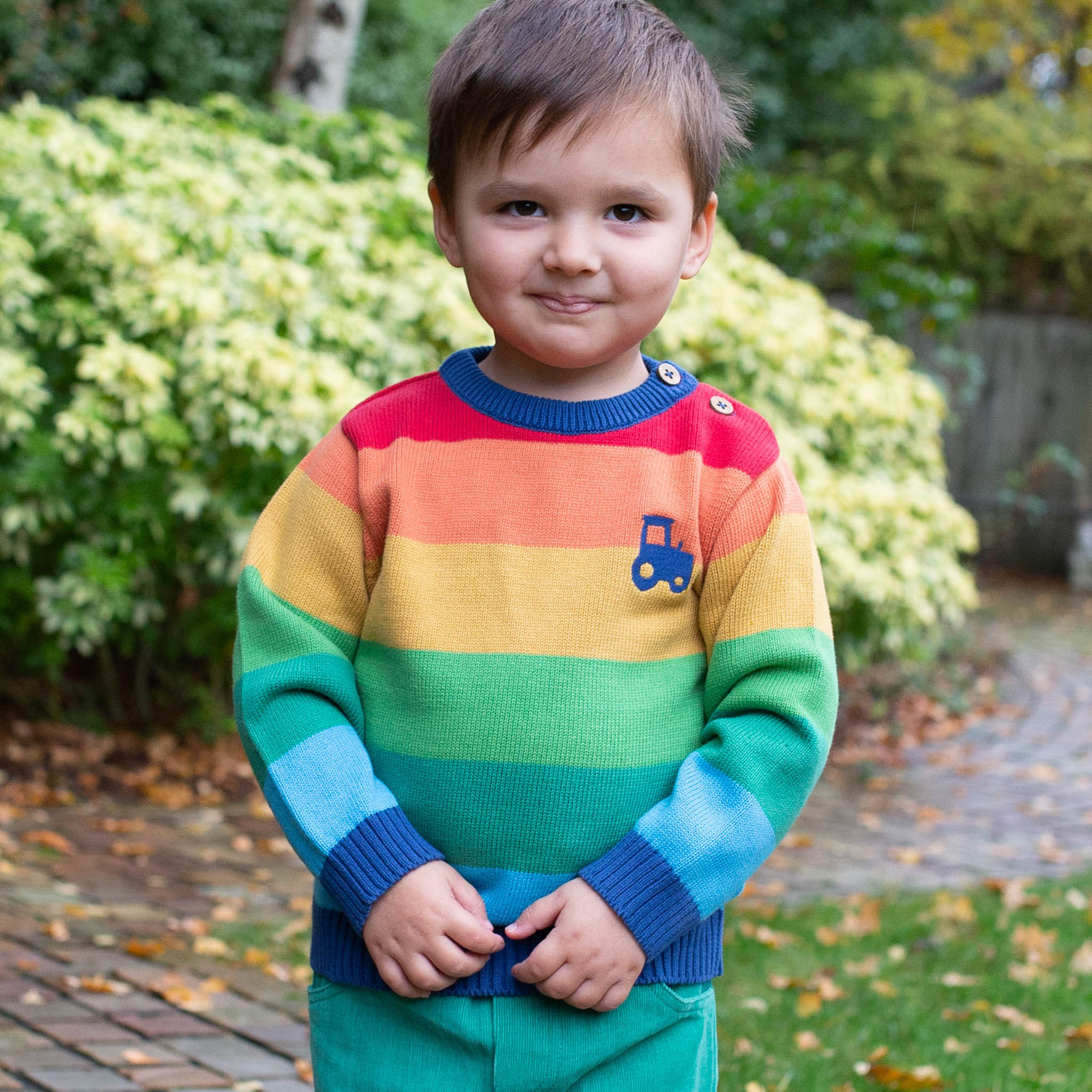 SALE £25.60 Kite Rainbow Tractor Jumper (was £32.00)
